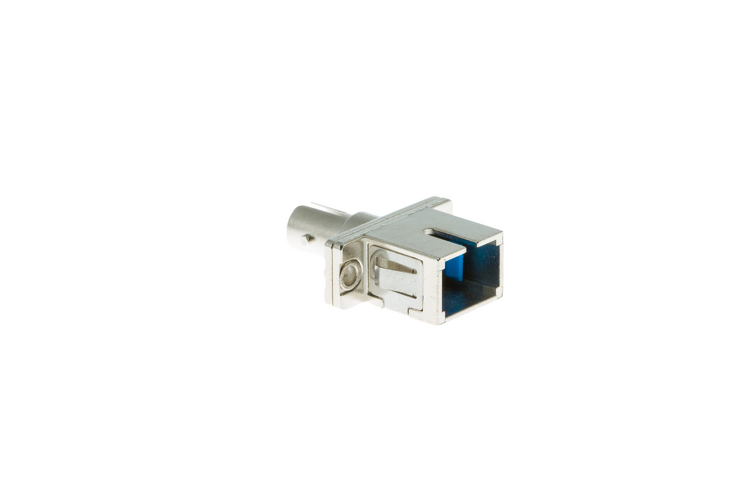 ST-SC Singlemode Simplex Fiber Optic Cable Adapter