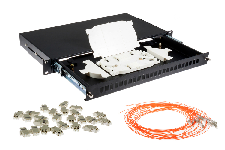 24 port lc patch panel