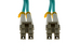 LC-LC 10 Gigabit Multimode Duplex 50/125 Fiber Patch Cable, 1M