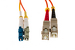 LC to SC Mode Conditioning 62.5/125 Fiber Patch Cable, 4 Meters