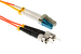 LC to ST Mode Conditioning 62.5/125 OM1 Fiber Patch Cable, 3 Meters