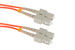 SC to SC Mode Conditioning 62.5/125 OM1 Fiber Patch Cable, 1.5M