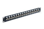 16 Port BNC Female Rack Mount Feed-Thru Panel