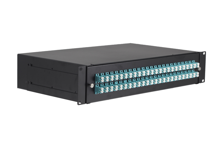 48 Port LC Multimode OM3 Fiber Patch Panel Bundle