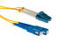 LC to SC Singlemode Duplex 9/125 Fiber Adapter Cable, 1Ft