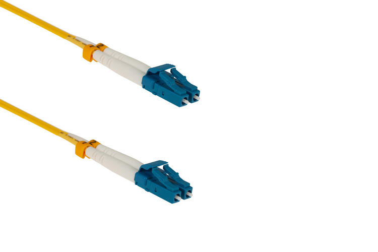 0.3 Meter LC-LC OS2 Fiber Patch Cable, 9/125 Singlemode Duplex