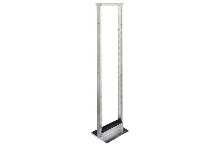 Great Lakes 52U Two Post Rack, Mill Anodized Finish