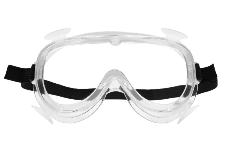 Ventilated Protective Goggles, Single Pack
