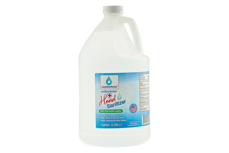 1 Gallon Alcohol Based Hand Sanitizer, 128 oz