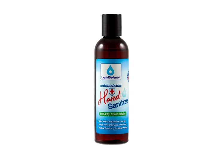 4 oz Liquid Alcohol Based Hand Sanitizer