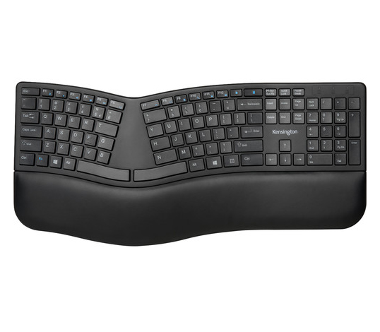 Kensington ProFIt Ergo Wireless Keyboard, K75401US