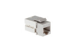 Cat6A RJ45 110 Type Keystone Jack, Gray