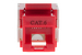 Cat6 RJ45 110 Type Keystone Jack, Red