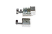 Cat6 RJ45 Shielded 110 Type Keystone Jack