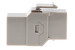 Cat5e RJ45 Inline Coupler Type Keystone Jack, Gray