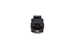 Cat6 RJ45 Inline Coupler Type Keystone Jack, Black