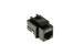 Cat5e Tool Less RJ45 Keystone Jack, Black