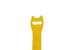 "Velcro One-Wrap Straps, 3/4"" x 8"", Qty 25, Yellow"
