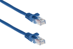 0.5ft Blue CAT5e Ethernet Patch Cable, Easyboot (Ferrari-style)