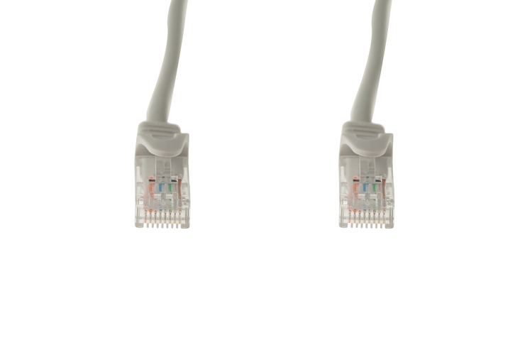 1ft Gray CAT6 Ethernet Patch Cables Easyboot Ferrari-style 50 Pack