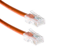 CAT5e Ethernet Patch Cable, Non-Booted, 10ft, Orange