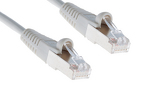 CAT5e Shielded Ethernet Patch Cable, Booted, 250ft, Gray