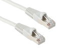 Cat5e Shielded Crossover Ethernet Cable, Booted, 1ft, Gray