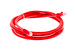 Cat6 Crossover Ethernet Patch Cable, Booted, 7ft, Red