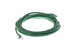 CAT6A Ethernet Patch Cable, Booted, 10ft, Green