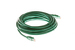 CAT6A Ethernet Patch Cable, Booted, 20ft, Green