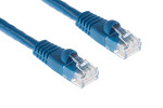 CAT6 Ethernet Patch Cable, Booted, 7ft, Blue, 10 Pack