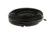 CAT6 Direct Burial Ethernet Patch Cable, Booted, 200ft, Black