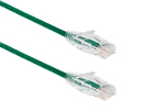 25ft Green Cat6 Slim Ethernet Patch Cable, Snagless