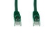 CAT6 Ethernet Patch Cable, Booted, 12ft, Green