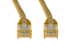CAT6 Ethernet Patch Cable, Non-Booted, 7ft, Yellow
