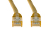 14ft Yellow Non-Booted CAT6 Ethernet Patch Cable, 10 Pack