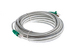 Cat6 Shielded Crossover Booted Ethernet Patch Cable, 25ft, Gray