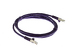 CAT6 Shielded Ethernet Patch Cable, Booted, 5ft, Purple