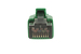 1ft Green CAT8 Ethernet Cable, S/FTP, 40Gbs, 2GHz, Easyboot