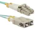 0.6m LC-SC OM3 Premium Multimode Duplex 50/125 Fiber Optic Cable