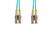 1m LC-LC OM4 Premium Multimode Duplex 50/125 Fiber Optic Cable