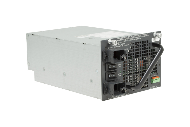 Cisco 4500 Series 6000W AC Dual Input Power Supply, PWR-C45-6000ACV/2