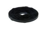 "Velcro Qwik Tie Roll, 3/4"" x 12"", Qty 75, Black"