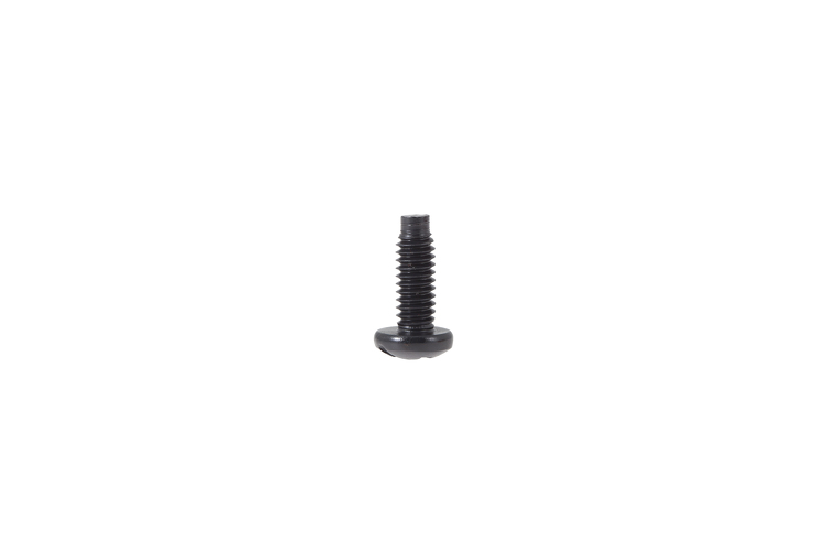 Premium Rack Mount Screws, 12-24 Thread, Phillips Head, Black Finish - Qty 100