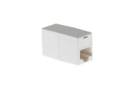 RJ45 CAT5/5e Inline Coupler for Connecting Ethernet Cables, White