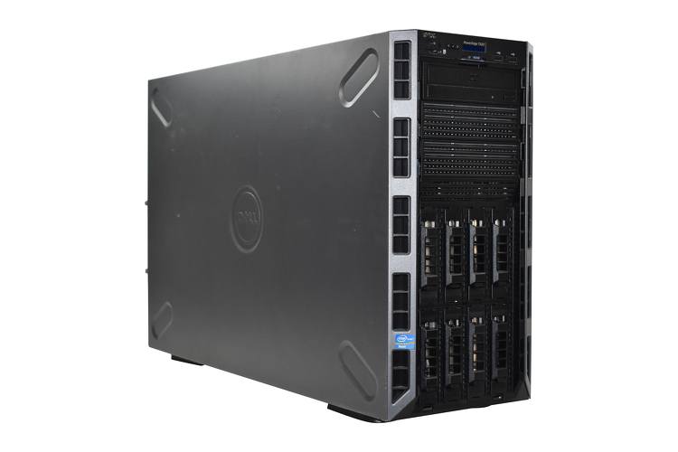 Dell PowerEdge T620 with (2) Intel® Xeon® E5-2680v2, 128GB RAM, (8) 600GB, 15K HDD