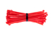 "4"" Nylon Cable Ties, Red (Qty 100)"