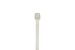 "4"" Nylon Cable Ties, White (Qty 100)"