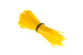"4"" Nylon Cable Ties, Yellow (Qty 100)"