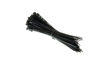 "5.5"" Nylon Cable Ties, Black (Qty 100)"